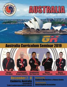 2019-australia-gha-curriculum-seminar