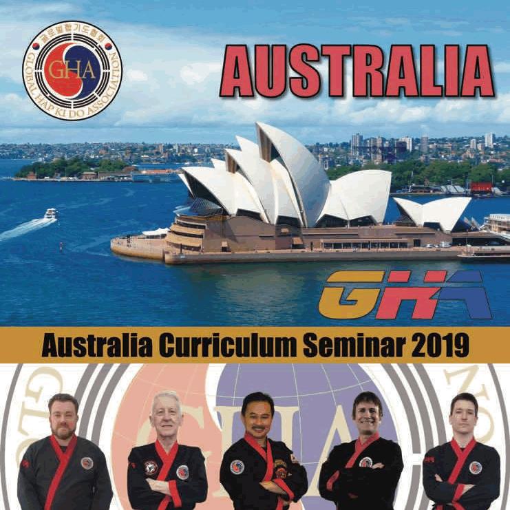 2019 Australia Hapkido Seminar Poster