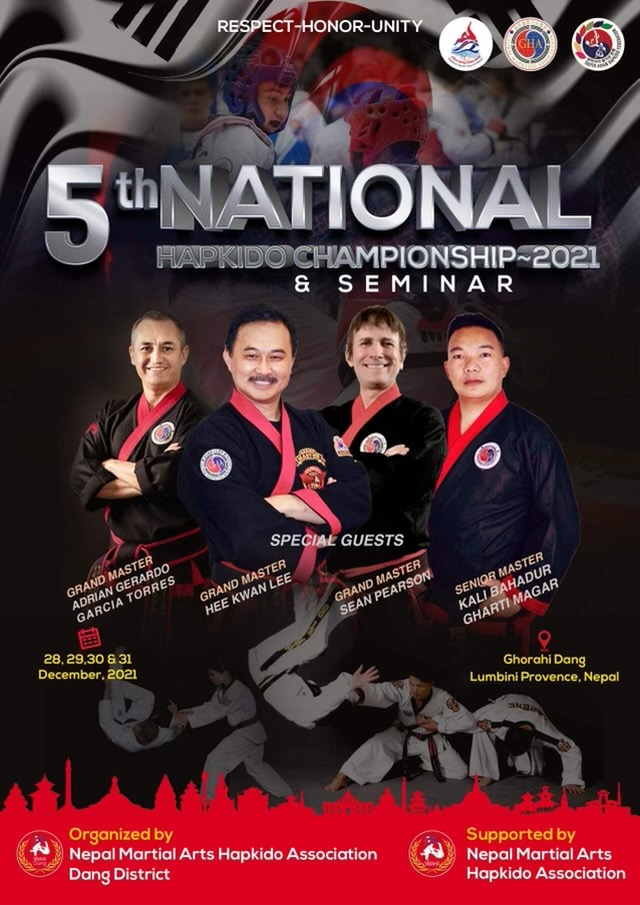 5th National Hapkido Championships Poster